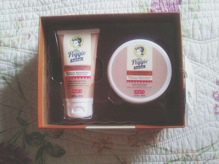 Face moisturizing cream with mandarin extract ~ hand and body cream with mandarin extract. Pupa Cosmetics Love Healthy
