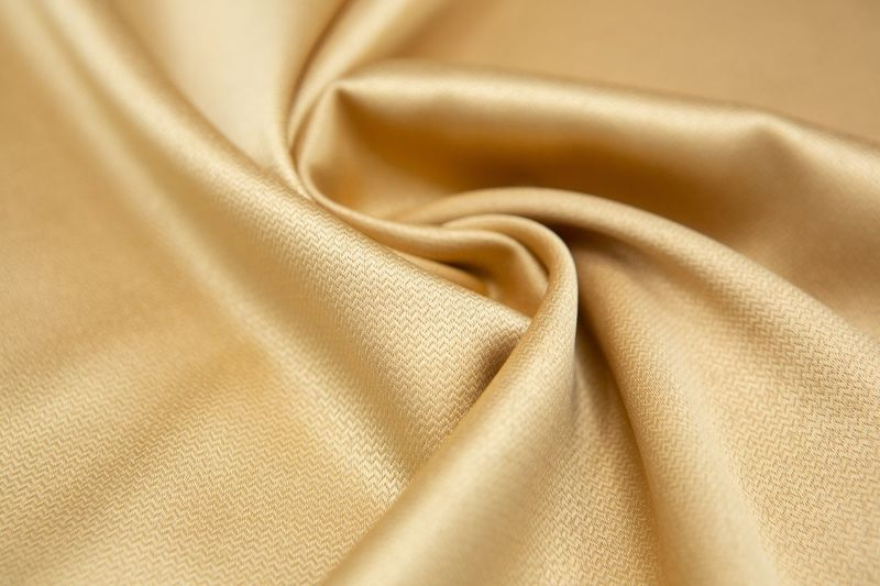 Silk Luxury Backgrounds Curve Full Frame Textured  Smooth Arts Culture And Entertainment Textile Rippled
