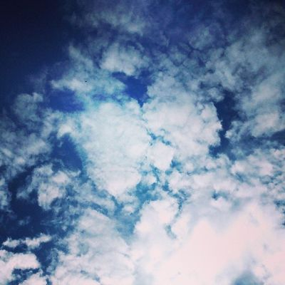Nubes Clouds Blue White