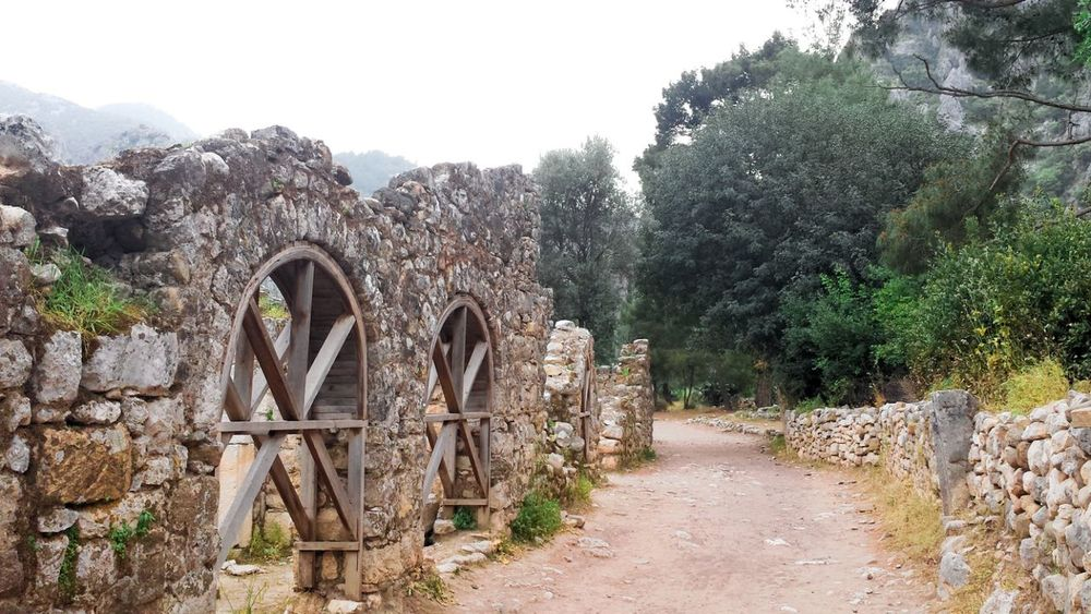 Monuments Monument Monument Valley Olympos Olympos Antalya Ruins Nature Forest Turkey