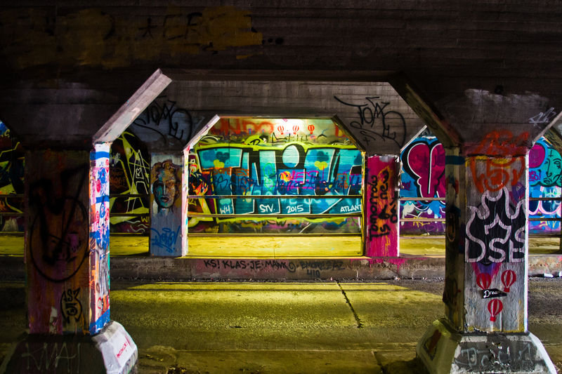 Art ATL Atlant Cabbagetown Creativity Culture Graffiti Graffiti Art Multi Colored Street Art Travel Destinations Travel Photography Urban Landscape Urban Photography Wall