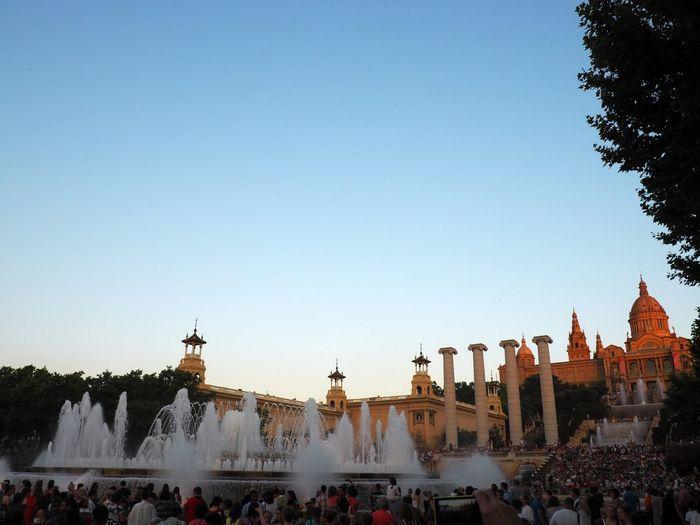 SPAIN Fontain Architecture Buildings