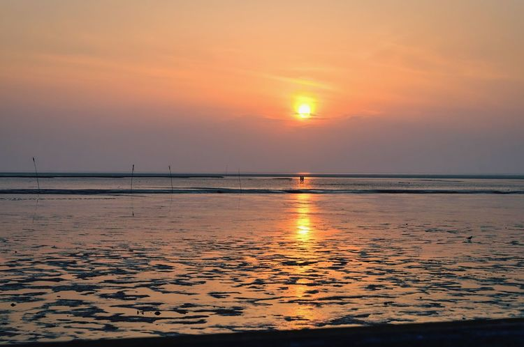 Where love is the sun always shines Love Love ♥ Loving Couple Coast Northsea Nordsee Nordseeküste Paar Liebe Sunset Sonnenuntergang Sonnenuntergang ❤ Sonnenuntergang 🌇 Watt Wattenmeer Landscapes With WhiteWall On The Way