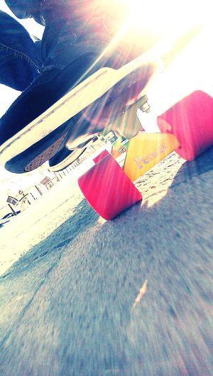 Skateboarding Pennyboard Palma