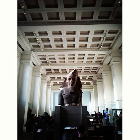 King Ramesses the ll. Egyptian Egypt Art Meaning Culture Britishmuseum TravelTuesday Airheads Pictureoftheday Marvel Wonder 1213bc