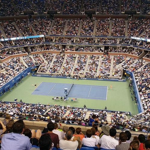 US Open 2nd round: M.Sharapova x M.Kirilenko Usopen NYC Tennis