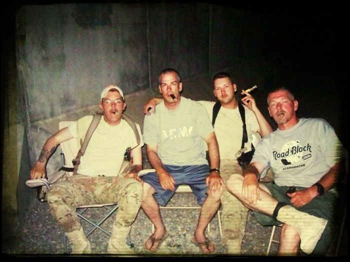 The BHB Crew in Afghanistan 2011.