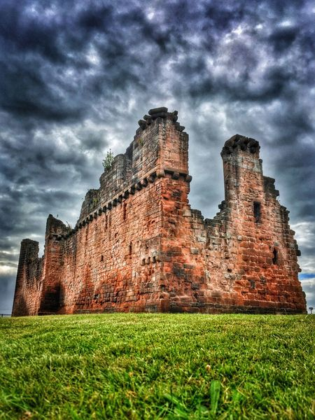 Ruins Ruin Castle Penrith Penrith Castle Ruins Clouds Sky