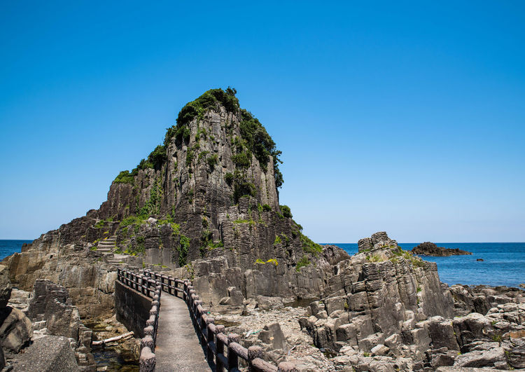 Outdoors Nature Sea Day Water No People Wireless Technology Pixelated Sky Beauty In Nature Travel Destinations 鉾島神社