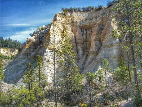Malokoff Diggins State Park.. State Park  Malokoff Diggins Hydraulic Goldmining California Unnatural Beauty