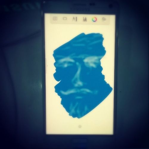 MobileShop ArtisticCheck QuickScetch Timekill Samsung Blue Portrait RepairNokia