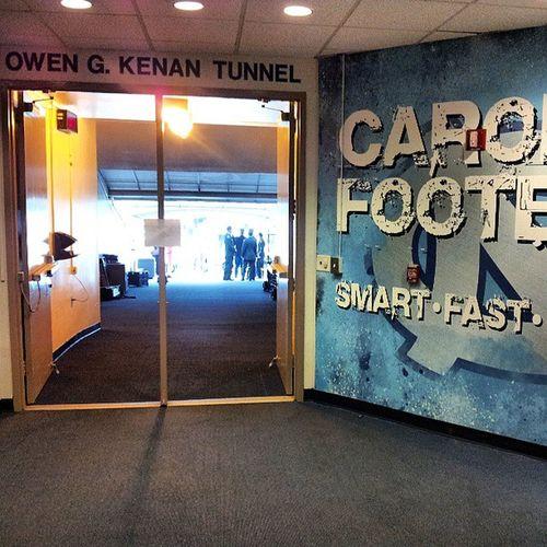 Kenanstadium inside the tunnel. Chapelhill Carolinafootball