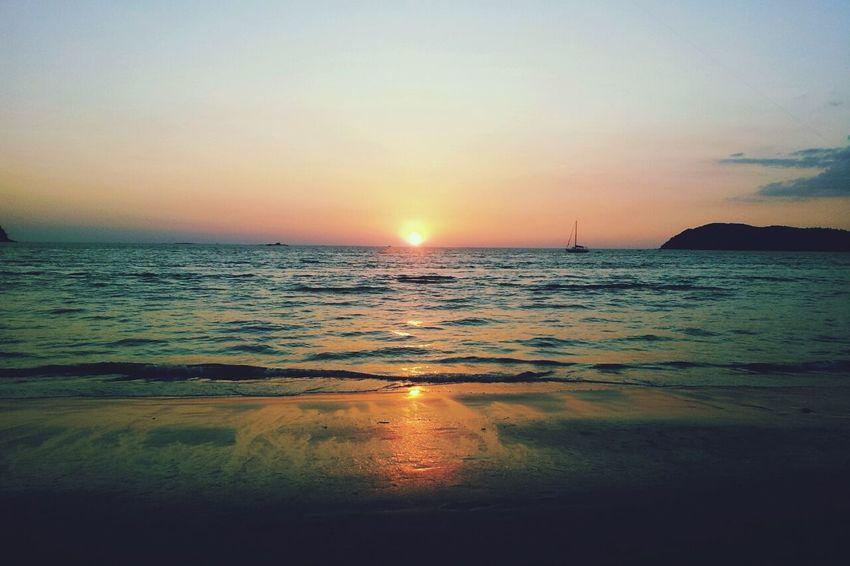 Puddingcamera Sunset