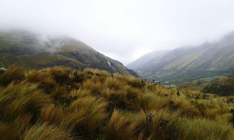 Parque Nacional El Cajas Frio ⛄❄ Emociones
