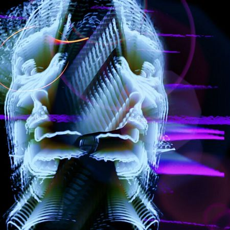 Creative Power Visual Poem Surrealism Release Conciousness  Neon Head Ache