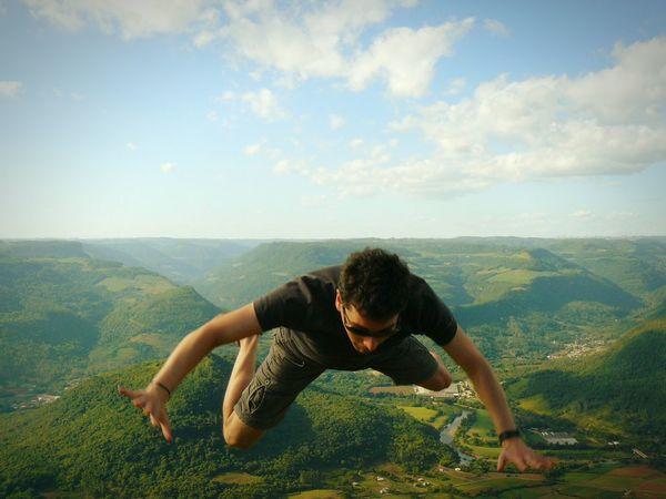 Capturing Freedom Jump Jumping Ninhodaaguia Brazil Riograndedosul