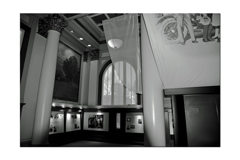 Charles A. Green Building 15 (AAMLO ) Interior African American Museum & Library At Oakland Dedicated To Preserving African American History Bnw_friday_eyeemchallenge Museum Library Oakland Main Library 1902-51 Architecture Style : Beaux Arts Italian Renaissance Architectural Detail Oak PanelingOrnate Columns Arched Windows & Doorways Coffered & Stenciled Plaster Ceilings Monochrome_Photography Monochrome Lowlight Black & White Black & White Photography Black And White Collection  Black And White The 2nd Library Built In State Of California