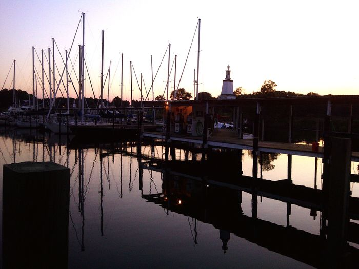 Sailboats Marina Docks Sunset Mast Olverson's Marina Good Times World Hanging Out Night View