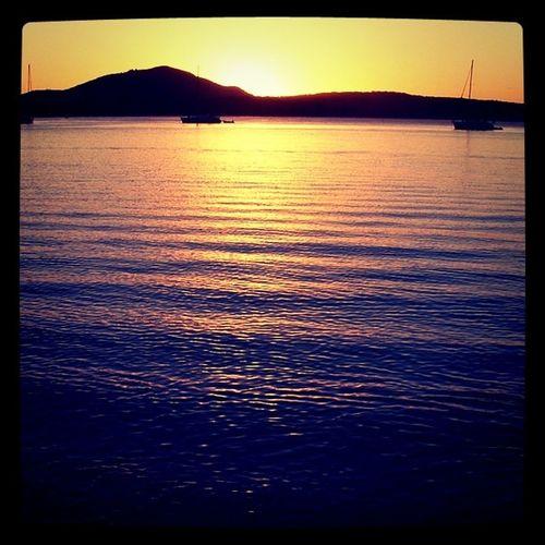 Whitsunday islands. Sunset Travel Australia oz
