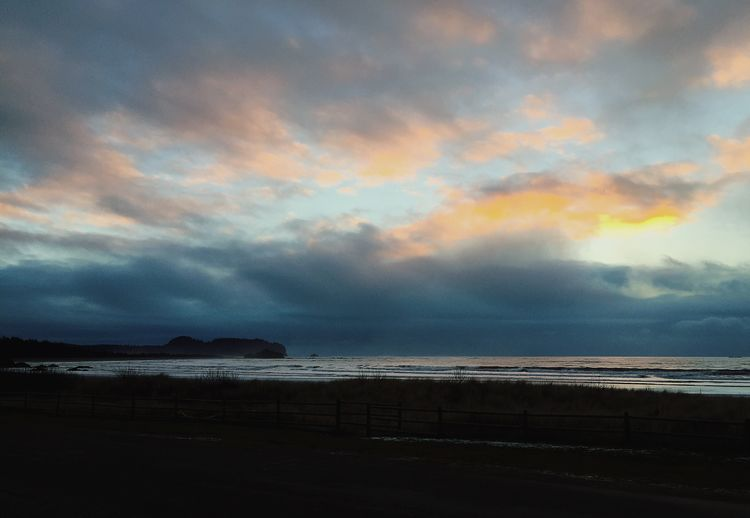 Ocean Pacific Ocean Neah Bay, Washington Sea Water Nature Scenics Beauty In Nature Sky Beach