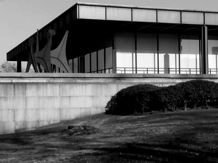 Architecture Berlin Building Glass - Material Mies Van Der Rohe Modern Neue Nationalgalerie Window