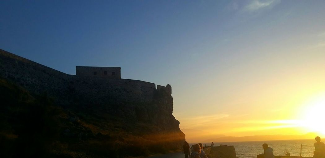 Castle at Rethymno Sunset Sammer Taking Photos Sky_collection Nature Skylovers