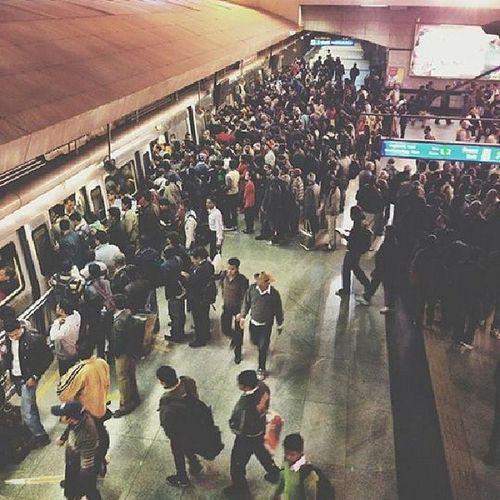 Delhi Metro is insane, like always.