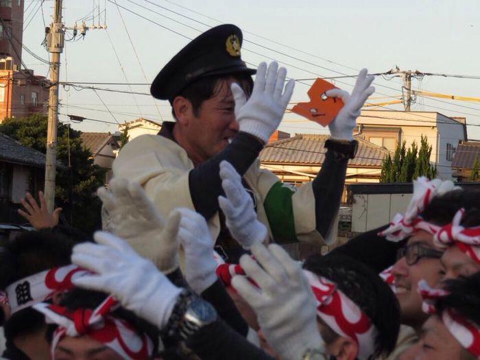 Festival Karatsu Karatsu Kimchi Saga JapaneseFestival 唐津 佐賀 祭り おまわりさん にわかせんぺい