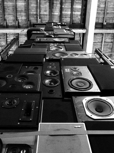 Sound Art Berlin Speakers Exibition Instalation
