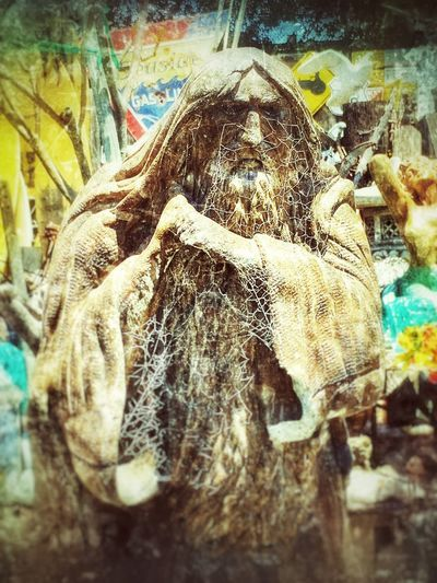 The Old Man of the Sea. Statue Statues Sculpture Sculptures IPhoneography Old But Awesome Old Man Old Man Of The Sea... GrungeStyle Angry Man