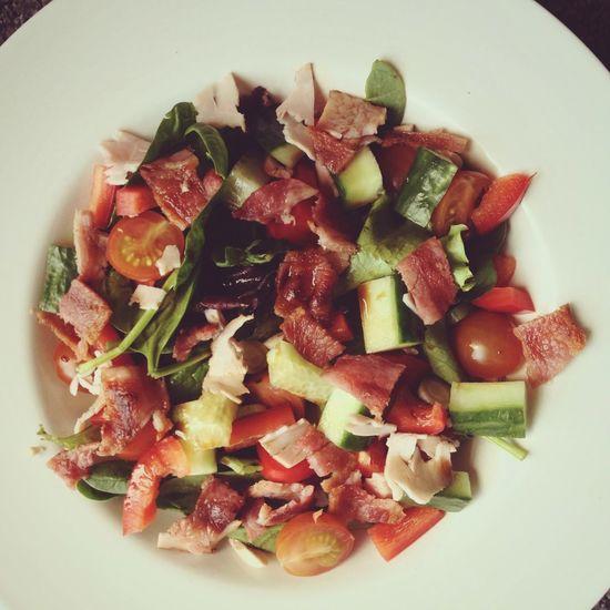 Healthy Lunch Healthy Eating Salad Rabbit Food Greens 5 A Day Vegetables Good Food Good Food Good Mood Health Healthy