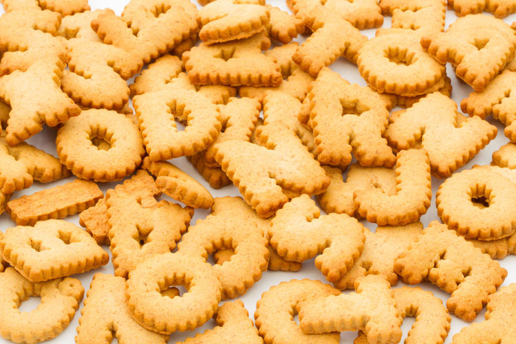 Alphabet shaped cookies Alphabet Baking Biscuits Blog Close-up Cookies Education Food Food And Drink Food And Drink Food Blogger Freshness Full Frame Indoors  Large Group Of Objects Letters No People Online  Shaped Shapes Words