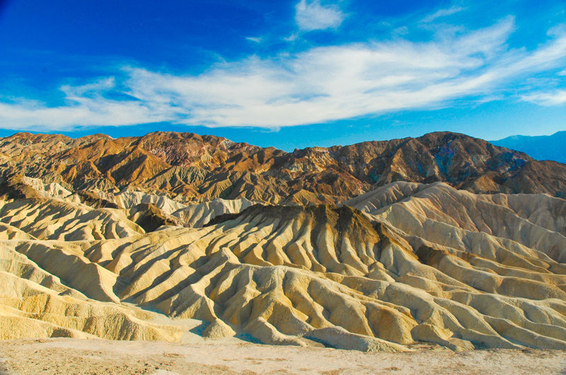 Beauty In Nature Death Valley Desert Desert Dramatic Landscape Extreme Terrain Geology Landscape Mountain Nature Nevada Remote Sand Dune Solitude TakeoverContrast Zabriskie Point