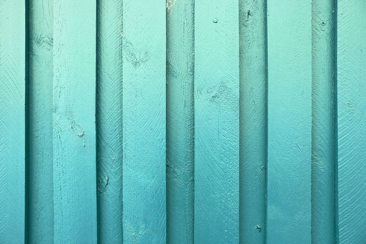 Full frame shot of blue textured wall