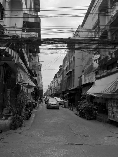 Mobility In Mega Cities Busy Place Wireless Technology Wires And Cables Wires In The Sky Local Business Local Market Wired World The Week On EyeEm
