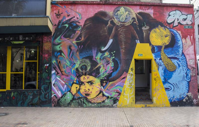 Street art Bogotá Art Creativity Graffiti Graffiti Art Multi Colored Street Art Street Art/graf Street Art/Graffiti Street Arts  Wall