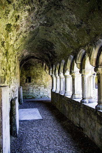 Sligo Abbey Monastery Arches Architecture Built Structure Cloister Arcade Day Heritage History No People Oconnor Brewery Sligo Abbey