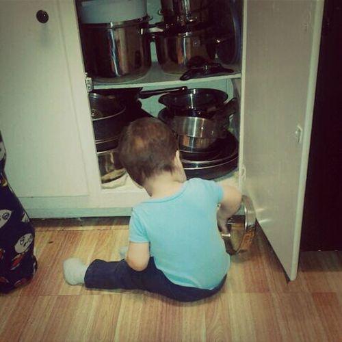 My nephew is so bad (: