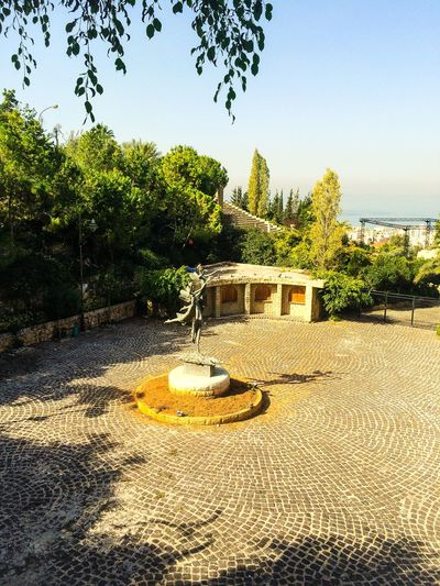 Lebanon Roman Amphitheater Piazza Zouk Souks Landscape