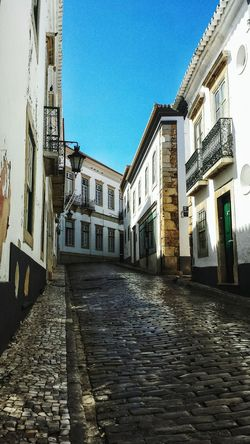 Algarve Portugal Street Whitewash Architecture Portugese Copy Space The Street Photographer - 2017 EyeEm Awards The Architect - 2017 EyeEm Awards Been There. High Street Street Scene Townhouse Cobblestone Tiled Roof  Cobbled TOWNSCAPE Old Town Town Residential Structure