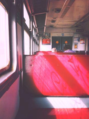Electric Train Train No People
