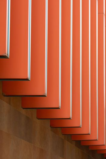 StreetPhotography (Colegio de Albacete 🇪🇸) Fotografiacallejera Streetphotography Red Indoors  Wall - Building Feature No People Architecture Absence Built Structure Staircase Home Interior Carpet - Decor Day Pattern Directly Above Orange Color Design Vibrant Color Flooring Close-up Wall The Street Photographer - 2018 EyeEm Awards