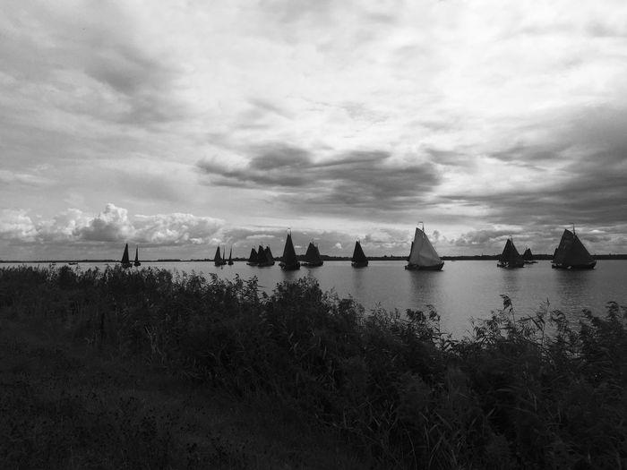 Water Sky Cloud - Sky Sea Nature Nautical Vessel Transportation