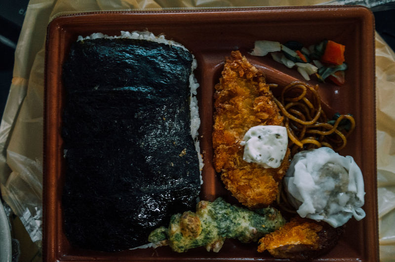 Seaweed Bento Bento Box Choice Chow Mein Deli Eat Food Freshness Fried Noodles Fry Japanese Food Noriben Open PLASTIC CONTAINER Ready-to-eat Rice Rows Of Things Steamed Meatboll Dumplings Table Taste Good Variation Yakisoba Yum Show Us Your Takeaway!