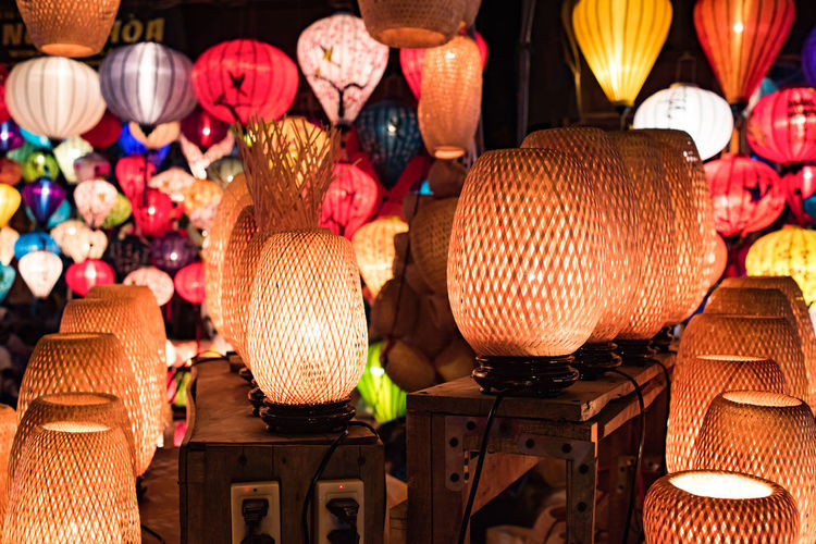 Illuminated Lanterns In Store For Sale