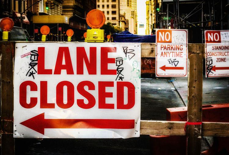 Lane Close City