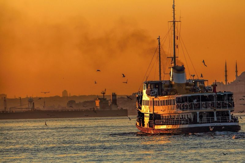 Istanbul Ey4photography Sunset Landscape