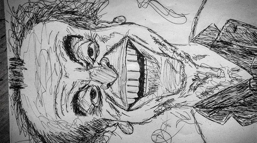 Jack nicholson .. Jacknicholson Doodling Doodle Inked Ink Inkportrait Drawing Sketching Caricature Sketch Blackandwhite