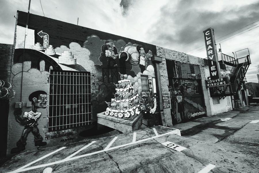 B&w Street Photography Dallas Deep Ellum