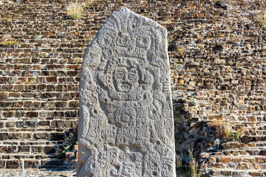 Stele in the ancient ruins of Monte Alban in Oaxaca, Mexico Architecture Hills Mayan Mayan Ruins Mexico Oaxaca Oaxaca México  Pyramid Rock Ruins Temples Travel Building Maya Monte Alban Mountain Old Platforms Rocks Ruin Stele Stone Stones Temple Tourism